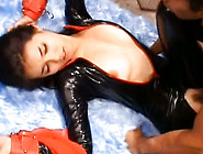 Maria Ozawa Asian Model Is Sexy In Her Latex Costume