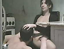 My Dark-Haired Wife Masturbates,  Then Lets Me Finger And Lick He