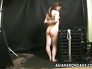 Dominated Asian Tied Up