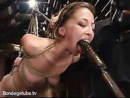 Veronica Jett Filled With Plastic During Bdsm