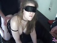 Birthday Fuck.  Fucking With Cum In Her Mouth.