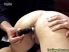Smalltits Asian Teen Pleasured With Toys