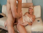 Horny Danny Wylde Gets A Blow Job And Boob Job From Blonde Slut