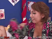 Cum Guzzling Kimono Asian