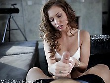 Nubile Films - Petite Goddess Maddy Oreilly Swallows Every Last