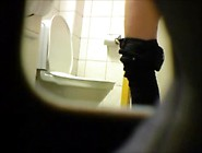 Blonde Teen On Hidden Cam Using The Toilet