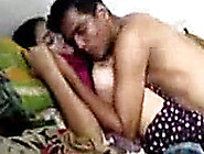 Playful Bangladeshi Young Couple Having Fun In Bed