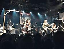 Korrozia metalla metal concert kinky nude girls on stage - 3 5