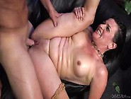 Hard Pussy & Ass Pounding And Cum In Mouth For Lusty Granny