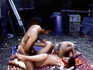 Retro 3-Way With Two Girls And Ron Jeremy