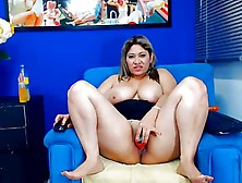 Young Latina Bbw With Huge Tits Teasing