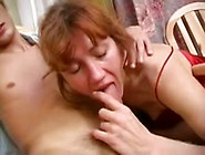 Mom Gives Her Ass To Young Boy