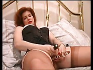 Red Haired Hot Mom Fingers And Toys