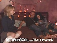 Xxx Version Of The Halloween Movie With A Masked Killer Spying O