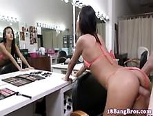 Sweet Asian Alina Li Fucked From Behind