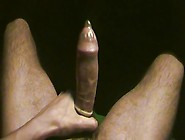 Massage For My Balls & My Big Hairy Sausage In Condom