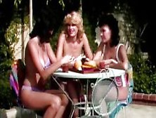 Vintage Lesbian Action With Three Gals Sharing The Love And The