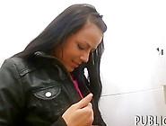 Cute Amateur Brunette Czech Girl Fucked In Malls Toilet