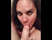 Sexy Mom Becky Tailor Pov Dick Sucking,  Pt.  1