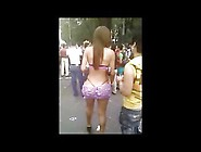 Semi-Naked T-Girls On The Street