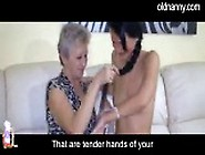 Nasty Old Granny And Her Very Young Girlfriend