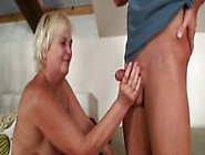 Old Mother Inlaw Loves It From Behind