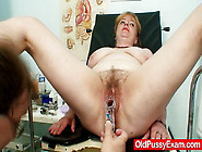 Mature Jindra Gyno Old Pussy Exam