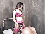 Japanese Mistress Uses Giant Strapon On Guy (Censored)