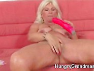 Granny Getting Some Help To Cum Like A Boss
