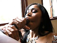 Gorgeous Yasmine Shaking Her Ass On A Black Dick