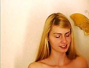 Hot Blonde Masturbates For The Webcam