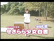 Japanese Girl Teases With Her Ass In The Outdoors