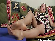 Mature American Ladies,  Lauren,  Jamie And Lilli Like To Play Wit