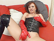 Katja Kassin Gets Her Cunt And Bumhole Banged In Leather Fetish
