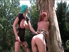 Fat Ass Slut Spanked Hard By Mistress