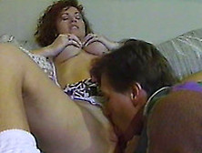 Sweet Classic White Milf Gives Head Only After Cunnilingus