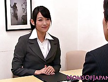 Japanese Co-Workers Conduct Naughty Business Long After Working