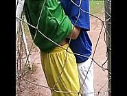 Brazilian Twinks Bruno And Alan Have Bareback Sex In Jungle