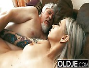 Old And Young Teen Blonde Fucked By Old Man Tight Pussy Cock Lic