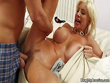 Attractive Blonde Milf Puma Swede With