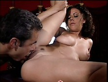 Busty Milf Penny Flame Gets Her Peach Eaten Out And Fucked On Th