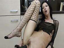 Extreme Anal Masturbation Starring The Anal Acrobat Hot Kinky Jo