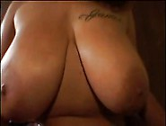 Heavy Tits Beauty Nailed By Long Black Cock