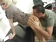 Diamond Foxxx Milf With Big Tits Gives A Handjob