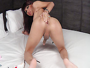 Ladyboy X In Big Beads And Winking Anus