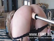 Cum Show ( Fuck Machine Doggy Style And Big Dildo, Ass Slap And F