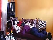Israeli Couple Having Sex In The Living Room 2