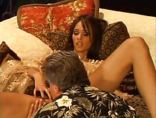 Brunette Bitch Tiffany Mason Goes For A Mustache Ride