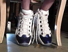 Tied & Desperate 6: Piss Drains Into My New Reebok Sneakers