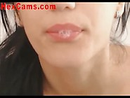 Cute Webcam Girl Chatting And Playing